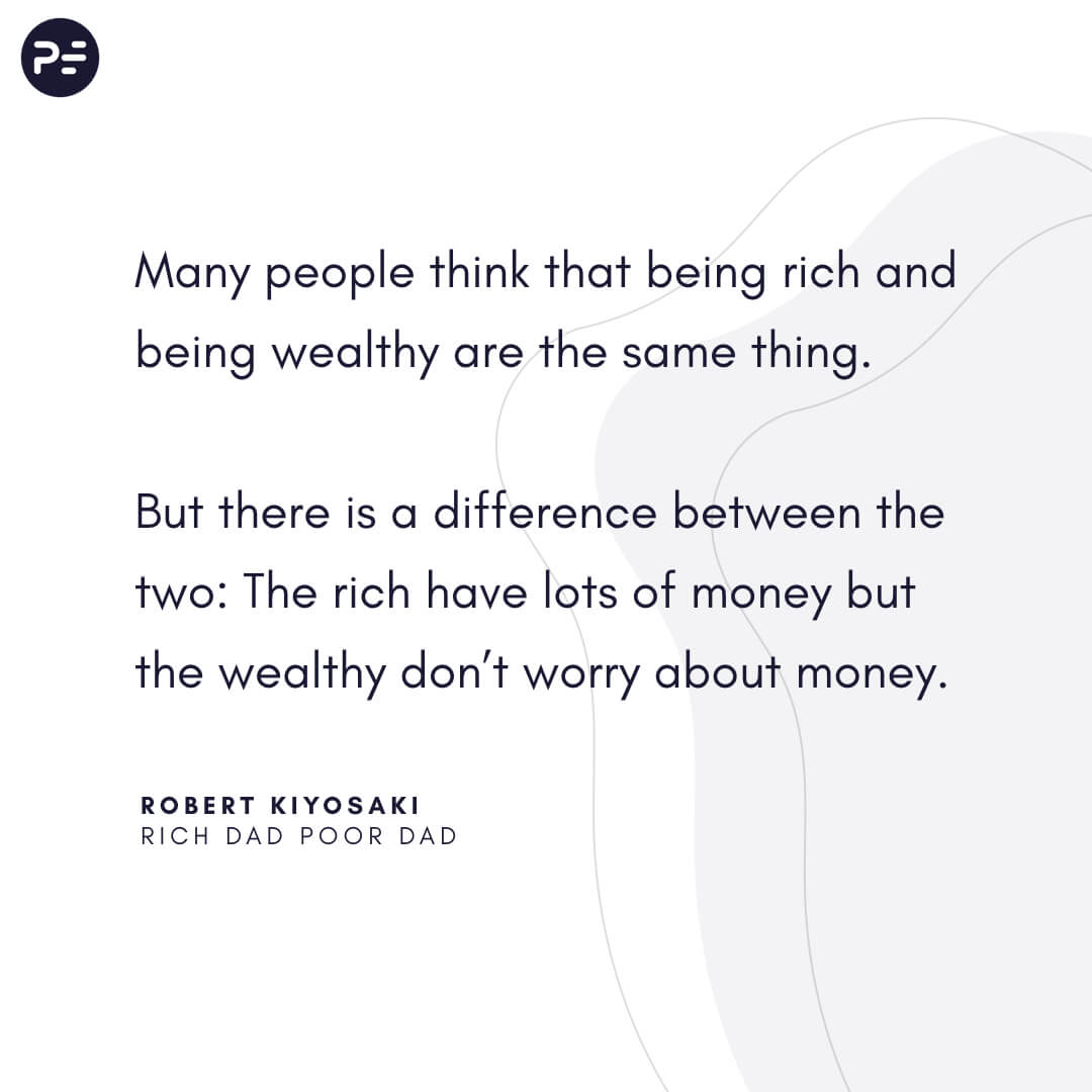 Wealthy vs Rich
